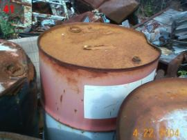 Unknown Corroded Drums