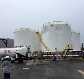 EPA team assesses regulated facility finds Gasoline Storage Tank Damaged by Irma St Thomas USVI