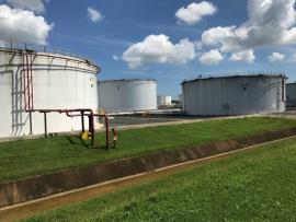 EPA photo from site visit to assess petroleum tank farm, Bayamon, Puerto Rico