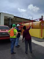 Led by OSC, team assesses regulated facility in Fajardo Puerto Rico