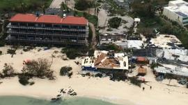 Hurricane Irma left destruction in its wake on St. Thomas, U.S. Virgin Islands (U.S. Coast Guard)