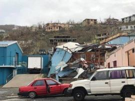 Irma damage St Thomas USVI