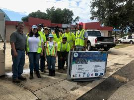 EPA team at a collection event in Cabo Rojo