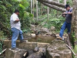 EPA team assesses non-PRASA drinking water system in Puerto Rico.