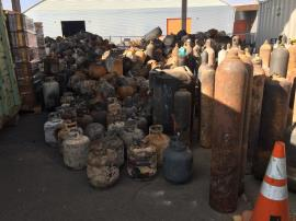 As of November 2, EPA had collected more than 8,300 containers of household hazardous waste in Napa and Sonoma counties as part of the multi-agency response to the Northern California fires.
