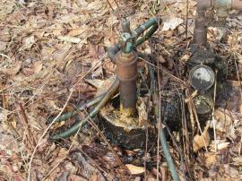 Leaking oil well Sue # 17