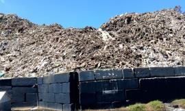 West face of pile and wall near residence; July 25, 2019 (Photo from SC DHEC)