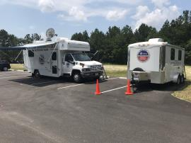 EPA Mobile Command Post; August 14, 2019 (Photo from EPA)