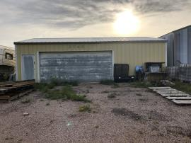 Garage where chemical waste was being stored. <br />Date Taken: 9/17/2019<br />Category: Site Photo<br />Latitude: 44.1360694444444<br />Longitude: -103.133566666667<br />Tags: