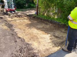 Soil excavation at home 429