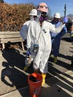 Air monitor - contractor thumbs up in full PPE at property in Phoenix.jpg