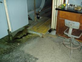 CCA spillage in treatment building