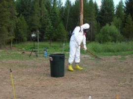 Activity Based Sampling For Asbestos in Libby, MT