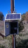 Solar Powered Gateway with High Gain Antenna