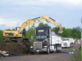 Loading of Non-Hazardous Soils.