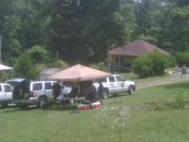 EPA Command Post at Madisonville Road satellite site