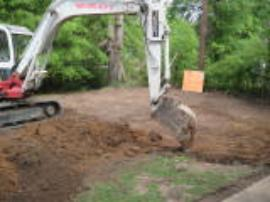 Excavation begins at backyard of Moss St. property