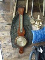 antique barometer and source of mercury