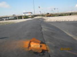 Air vent for geomembrane