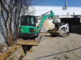 ERRS remove sludge from pit W-33