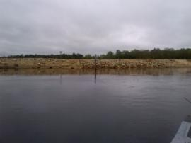 Vineland Chem site at confluence of Maurice River and Blackwater Branch
