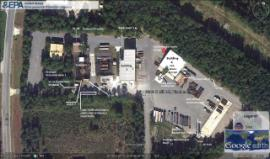 Google Earth overhead of portion of Site dated 10/2011.
