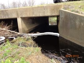 Culvert and soft boom<br />Date Taken: 3/29/2013<br />Category: Site Photo<br />Latitude: <br />Longitude: <br />Tags: