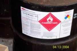 Flammable Label Information