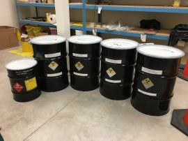 Radioactive Orphan Waste Prepared for Transport
