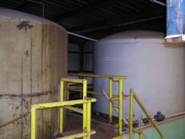 Tanks in South Building